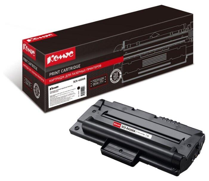 Картридж лазерный Комус SCX-D4200A черный, для Samsung SCX-4200/4220 — купить по выгодной цене на Яндекс.Маркете