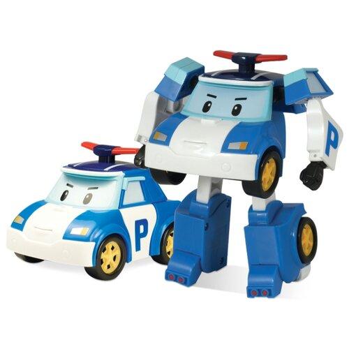 Трансформер Silverlit Robocar Poli 10 см белый/синий трансформер silverlit robocar poli рой 10 см красный