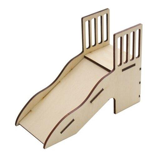 Купить Astra & Craft Деревянная заготовка для декорирования Горка L-519 береза, Декоративные элементы и материалы