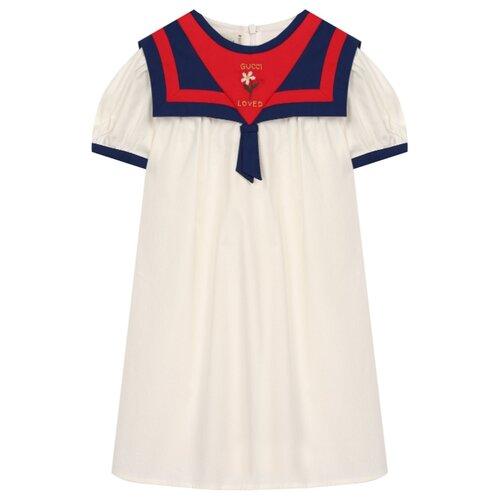 Платье GUCCI размер 86-92, белый