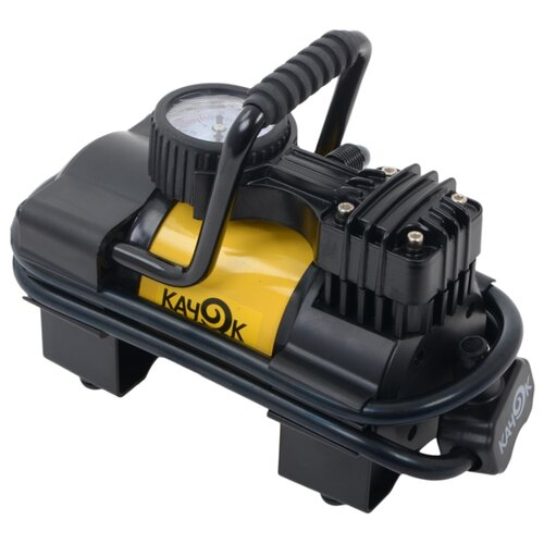 Автомобильный компрессор Качок K90 желтый