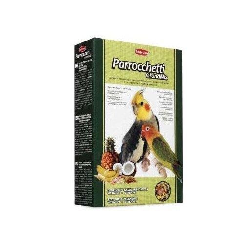 Padovan корм Grandmix Parrocchetti для средних попугаев 400 г