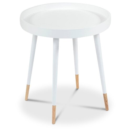Столик туалетный TetChair NY-3262, d: 46 см, белый