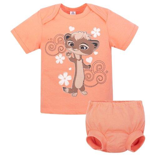 Купить Комплект одежды Утенок размер 92, персик Мила, Комплекты