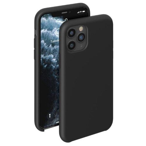 Чехол-накладка Deppa Liquid Silicone Case для Apple iPhone 11 Pro черный чехол deppa liquid silicone case для apple iphone 11 pro max лавандовый картон 87312