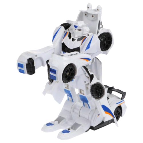 Фото - Робот-трансформер Zhorya Пультовод ZYA-A2768 белый радиоуправляемый робот zhorya интерактивный белый кот 2059