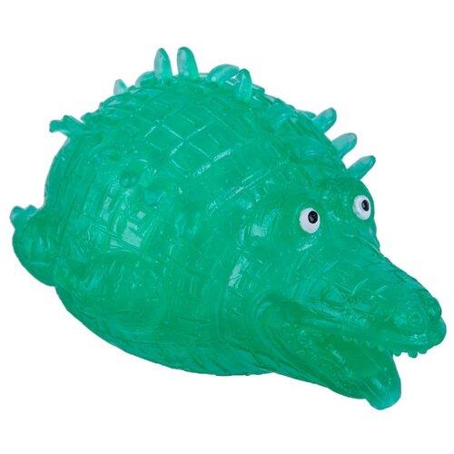 Игрушка-антистресс BONDIBON Мякиш. Крокодил (ВВ3036) зеленый