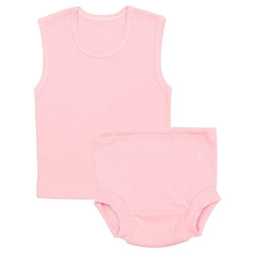 Купить Комплект нижнего белья Чудесные одежки размер 74, розовый, Белье