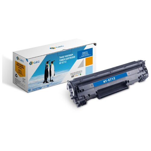 Фото - Картридж лазерный G&G NT-C712 черный (1500стр.) для Canon LBP-3010/3100 площадка giotto s g mh601 90мм для адаптера g mh621