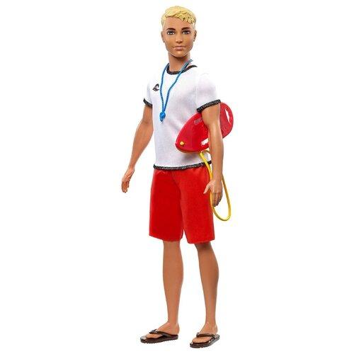 Купить Кукла Barbie Кем быть? Спасатель Кен, 30 см, FXP04, Куклы и пупсы
