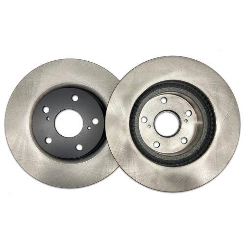 Комплект тормозных дисков передний NIBK RN1241 296x28 для Toyota Camry (2 шт.)