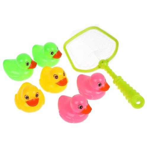 Фото - Рыбалка Наша игрушка 174 розовый/желтый/зеленый интерактивная игрушка наша игрушка рыбалка от 3 лет синий m7203
