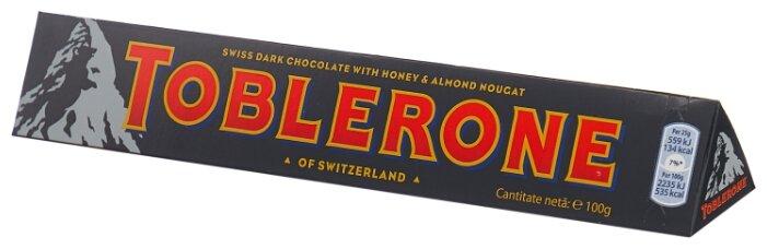 Шоколад Toblerone темный с медом и миндальной нугой