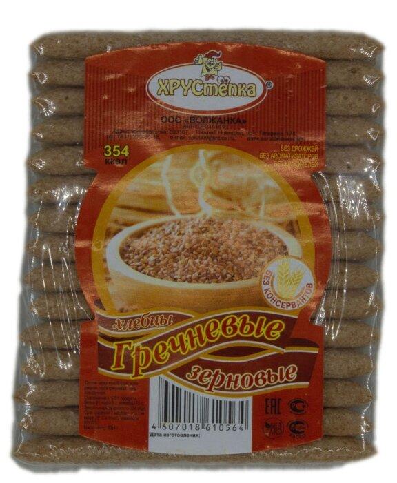 Хлебцы гречневые ХРУСтепка Зерновые 80 г
