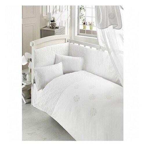 Купить Bebe Luvicci комплект Elite (6 предметов) белый, Постельное белье и комплекты