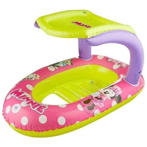 Лодочка надувная Bestway Минни 91059 BW розовый/зеленый надувная лодочка bestway рыбки 34036 bw желтый