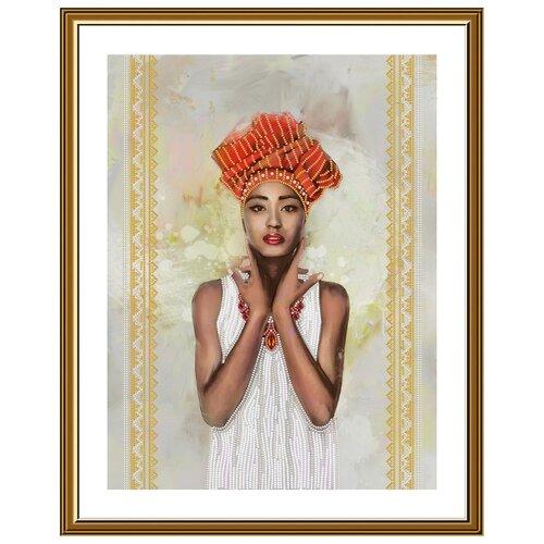 Купить Набор для вышивания Нова Слобода ДК №26 2502 Эфиопия 42.5х33см, NOVA SLOBODA, Наборы для вышивания