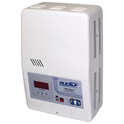 цена на Стабилизатор напряжения однофазный RUCELF SRW-5000-D