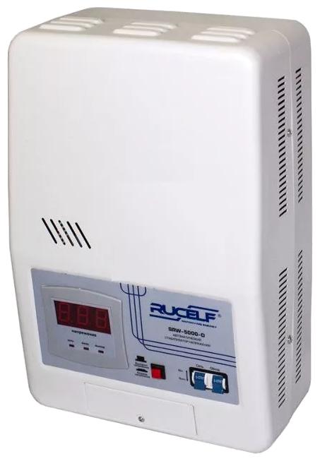 Стабилизатор напряжения однофазный RUCELF SRW-5000-D