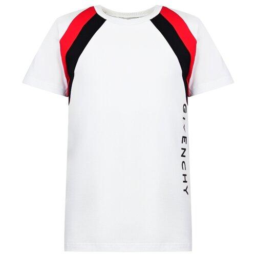 Футболка GIVENCHY размер 140, белый футболка givenchy размер 152 серый белый