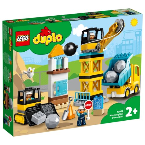 Фото - Конструктор LEGO DUPLO 10932 Шаровой таран конструктор lego duplo моя первая минни 10897