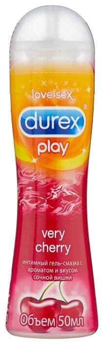 Гель-смазка Durex Play Very Cherry со сладким ароматом вишни