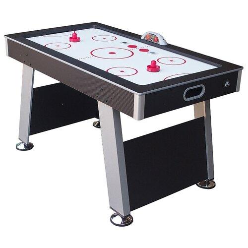 Игровой стол для аэрохоккея DFC Edmonton 55 ES-AT-5530E1 черный/серый