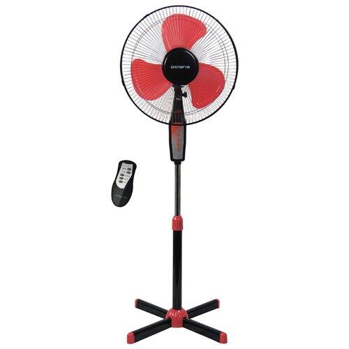 Напольный вентилятор Polaris PSF 0140RC черный/красный вентилятор polaris psf 40 rc digital