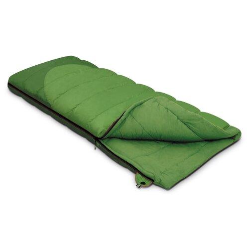 Спальный мешок Alexika Siberia зелeный с левой стороны