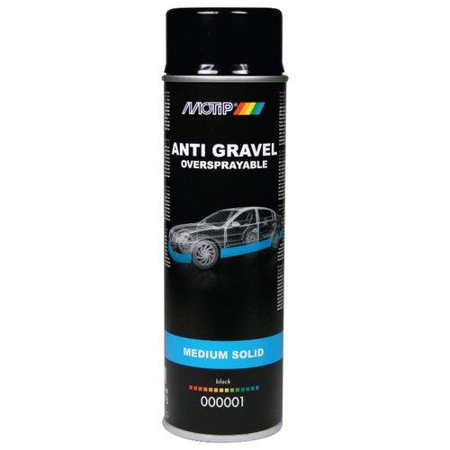 Жидкий антигравий MOTIP Anti Gravel Medium Solid черный 0.5 л баллончик