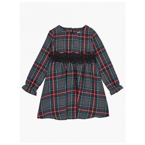 Купить Платье Mini Maxi размер 110, серый/зеленый, Платья и сарафаны