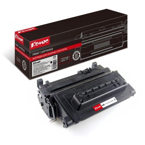 Фото - Картридж лазерный Комус 64A CC364A черный, для НР P4014/P4015/P4515 картридж лазерный комус 49a q5949а черный для нр1160 1320 3390 3392