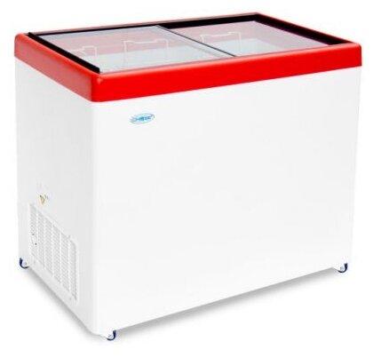 Морозильный ларь Снеж МЛП 400 (красный)