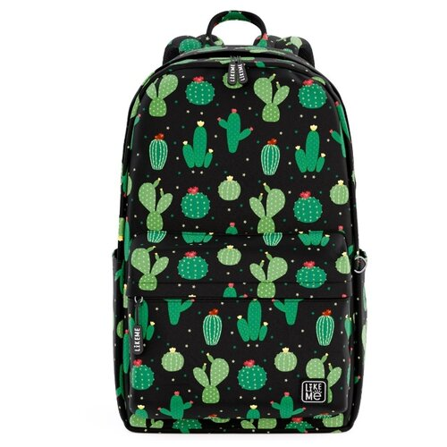 Купить Like Me рюкзак Teens Кактусы, черный, Рюкзаки, ранцы