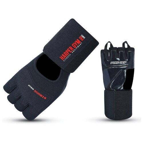 Перчатки Larsen Happer Gym 16-8844 черный XL