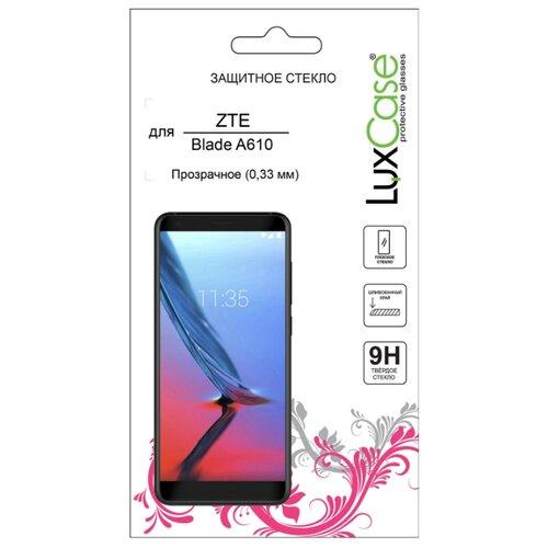 Защитное стекло LuxCase для ZTE Blade A610 прозрачный