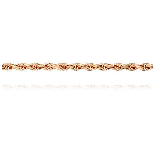 АДАМАС Цепь из золота плетения Корда ЦК130А1П-А51, 45 см