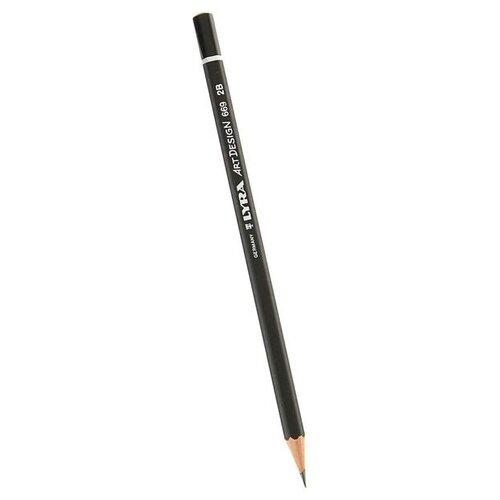 Купить Lyra Карандаш чернографитный Art design 2B (L1110102), Карандаши