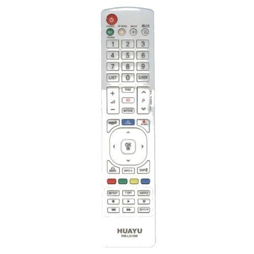 Фото - Пульт ДУ Huayu RM-L915W для телевизоров LG белый пульт ду huayu rm 836 для