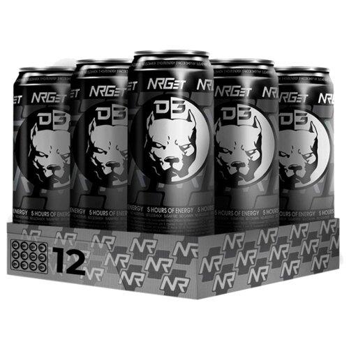 Энергетический напиток NRGet с соком лимонника, 0.5 л, 12 шт.