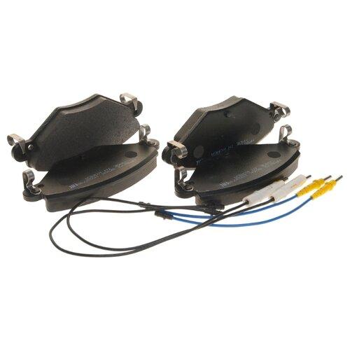 Фото - Дисковые тормозные колодки передние HONG SUNG BRAKE HP9672 для Citroen C5 (4 шт.) дисковые тормозные колодки передние hong sung brake hp5010 для toyota land cruiser 4 шт