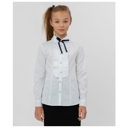 Блузка Button Blue размер 158, белый