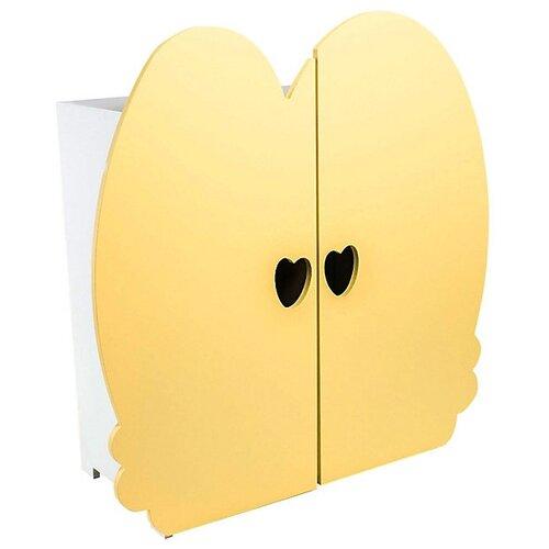 Купить PAREMO Шкаф для кукол (PFD120) желтый, Мебель для кукол