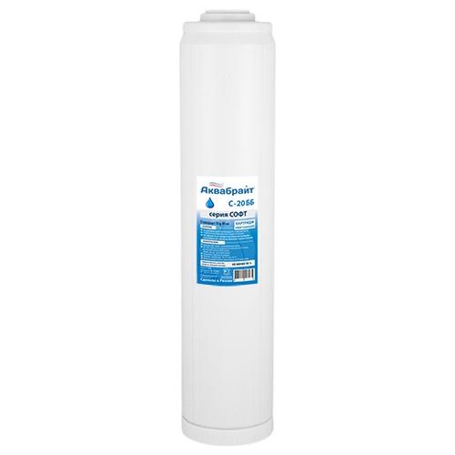 Фото - Аквабрайт С-20 ББ Картридж для умягчения воды, 1 шт. мембрана для бака аквабрайт ab edpm1924 19 л