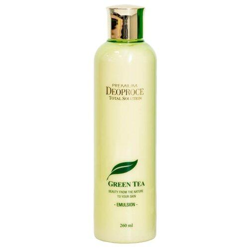 Deoproce Premium Green Tea Total Solution Emulsion Увлажняющая эмульсия для лица 260 млУвлажнение и питание<br>
