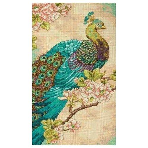 Купить Dimensions Набор для вышивания 35293-DMS Индийский павлин, Наборы для вышивания