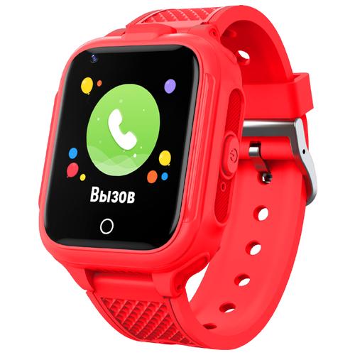 Детские умные часы c GPS GEOZON 4G Plus red детские умные часы c gps geozon active розовый