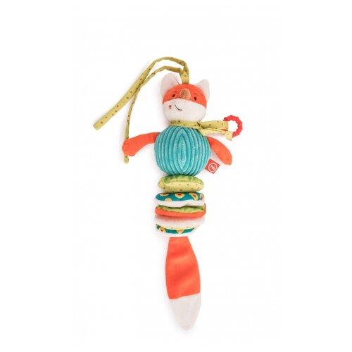 Купить Подвесная игрушка Happy Baby Лисичка Люся (330661) оранжевый/голубой, Подвески