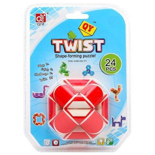 Купить Головоломка QiYi MoFangGe Twist красный/белый, Головоломки