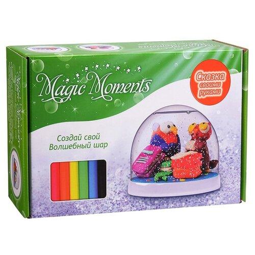 Пластилин Magic Moments Волшебный шар Совы (mm-2) цена 2017